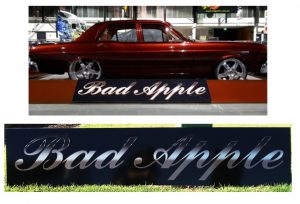 car show special show boards display boards acrylic perspex