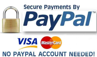 We accept Paypal, EFT & of course Cash We also offer a Laybuy service.
