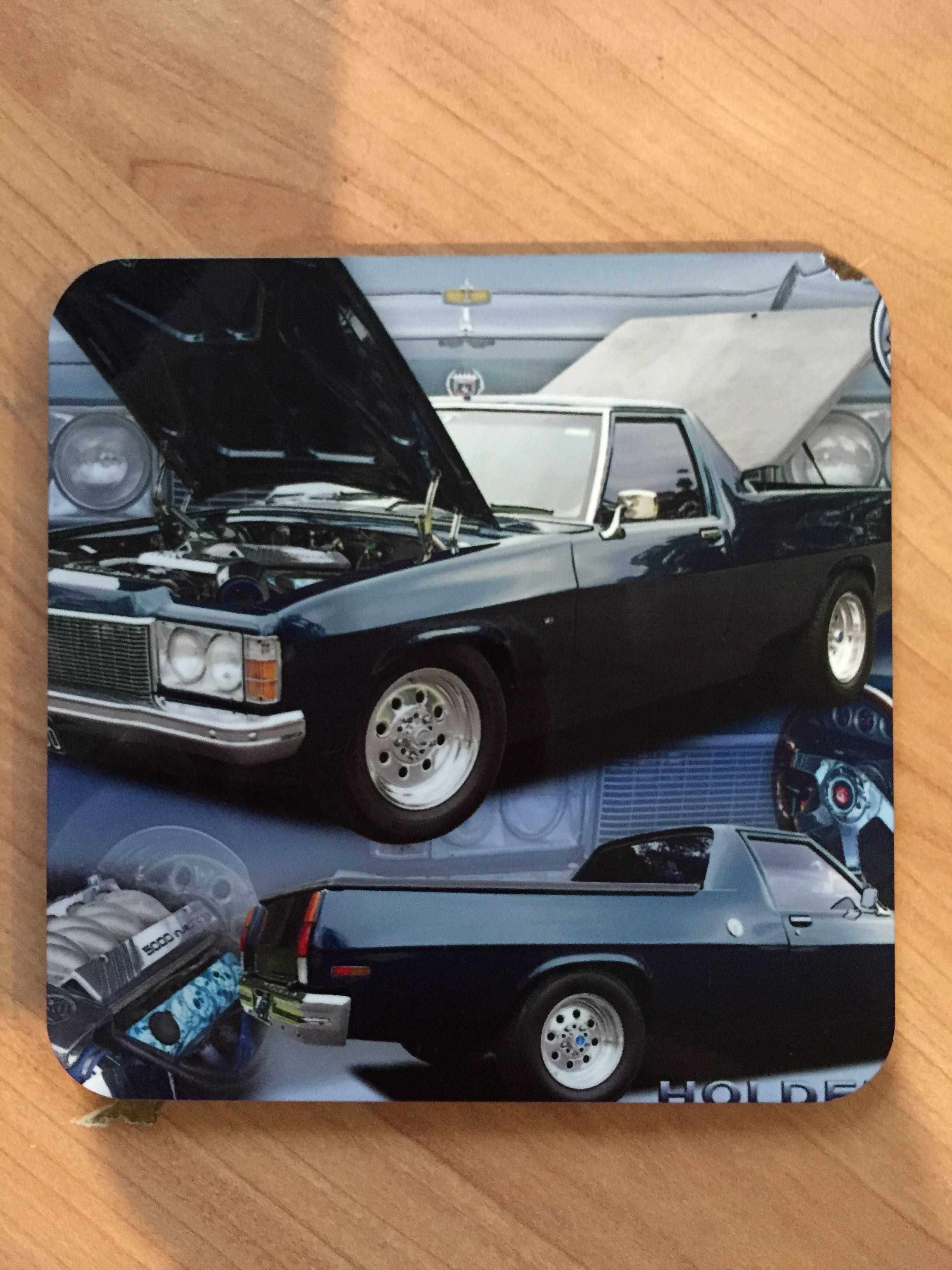 Holden HJ Personalised Printed Coaster For Gift Present