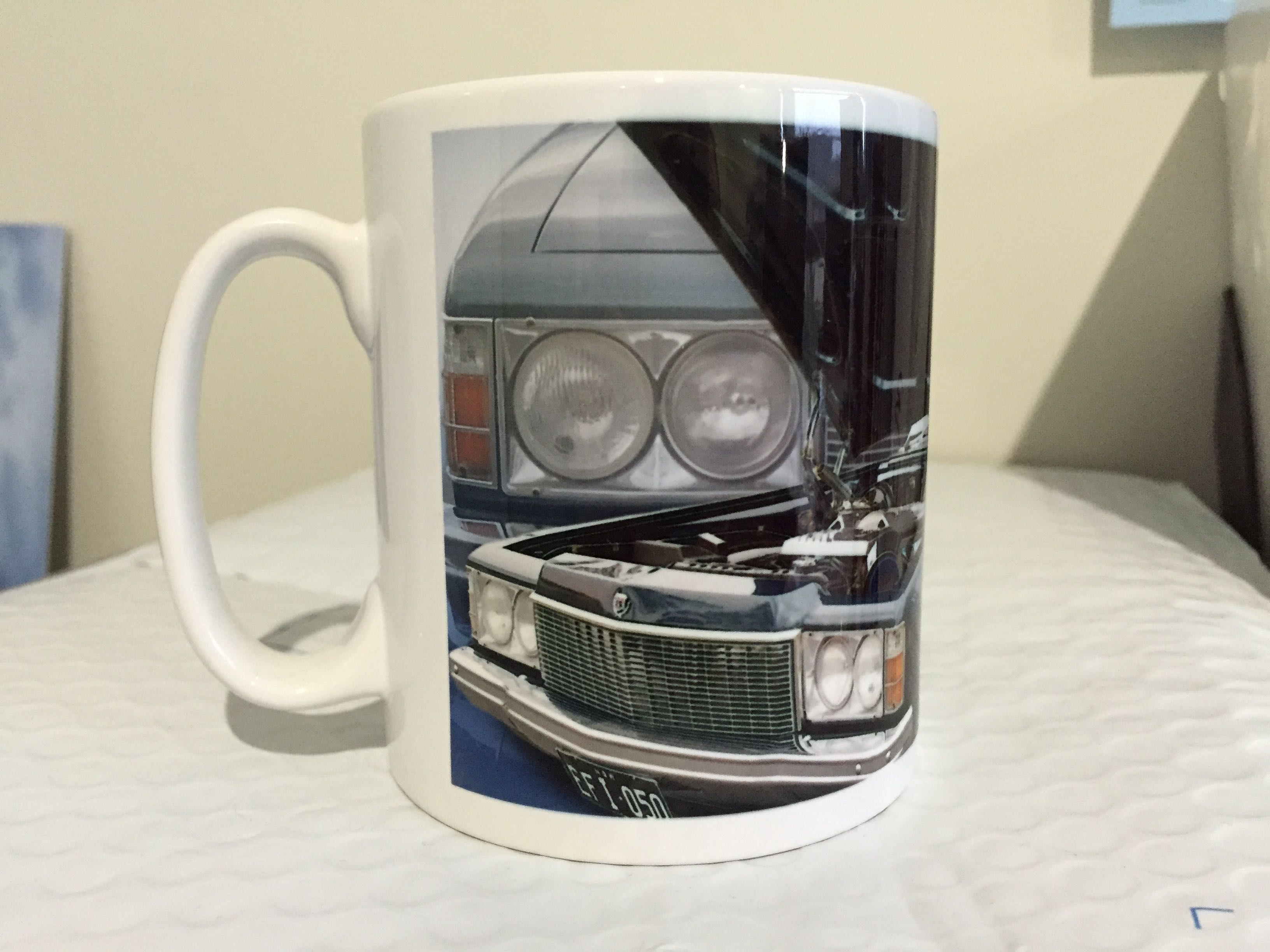 Holden HJ Personalised Coffee Cup Print Present Gift