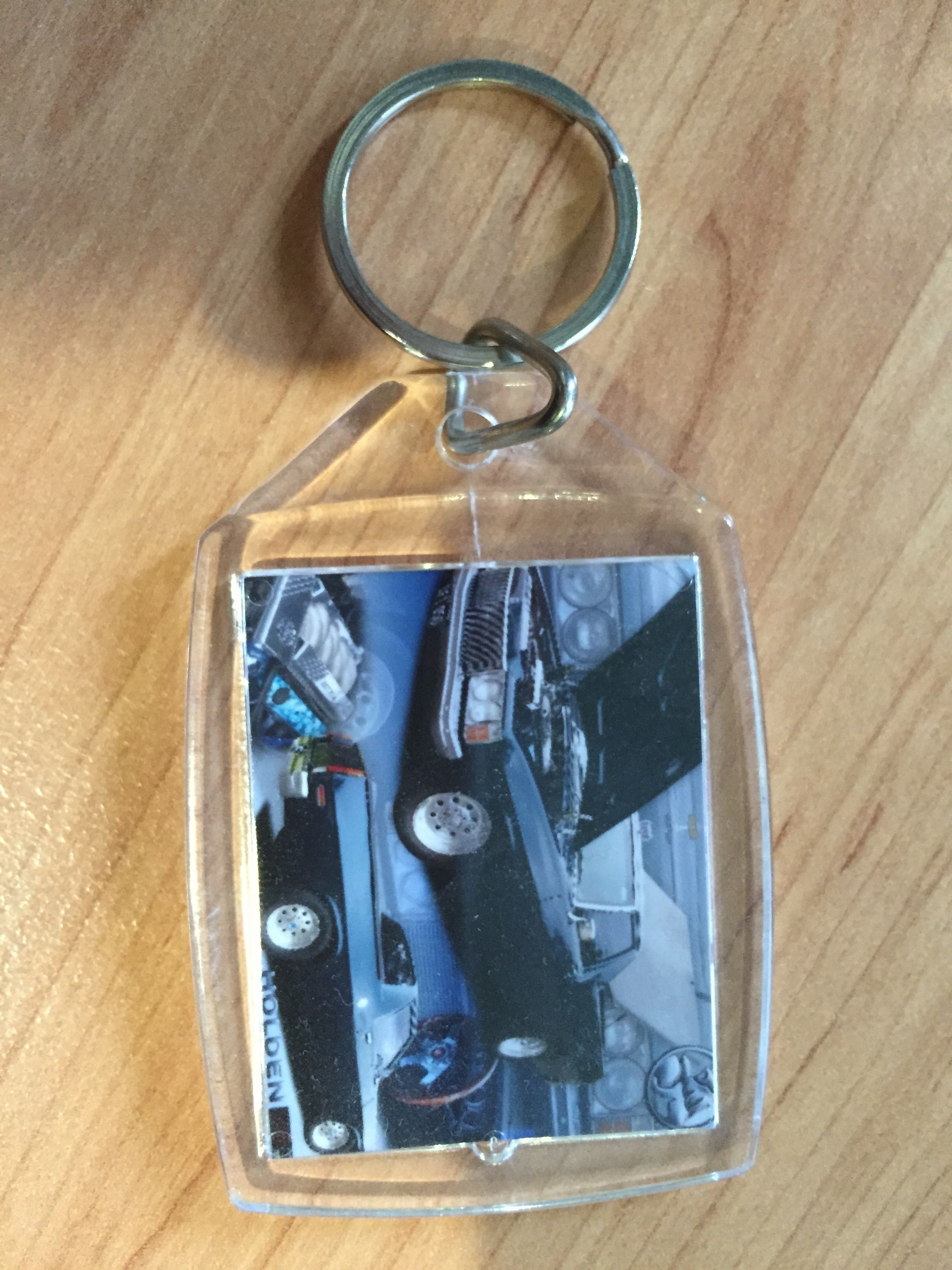Holden HJ Personalised Key Ring Present Gift For Man
