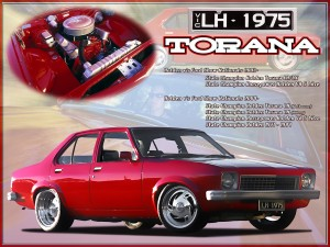 Torana print on aluminium show board