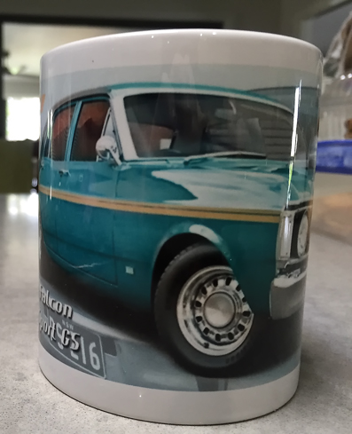 Ford XY Printed Coffee Cup