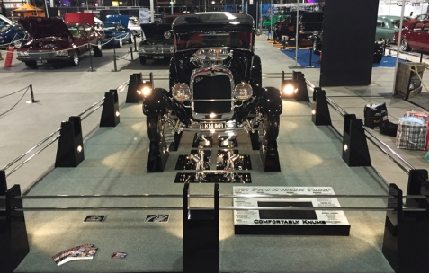 Ford Tudor special perspex acrylic show board display boards under car mirrors show boards australia