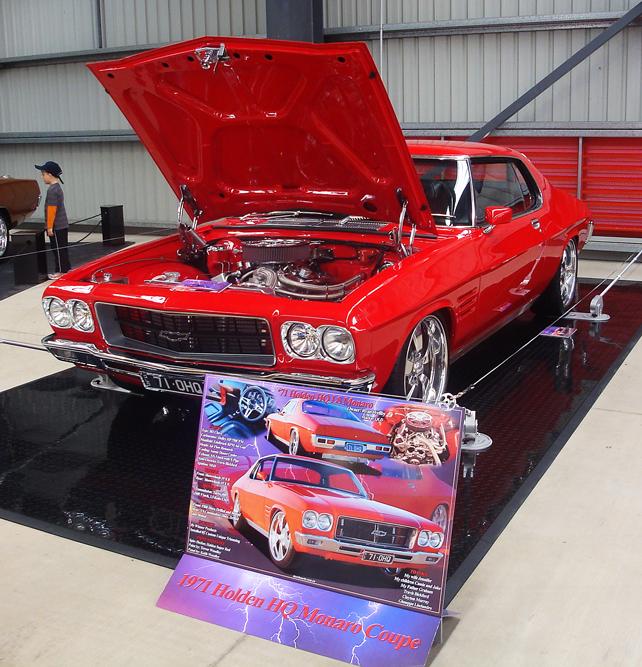 Holden HQ LS Monaro Aluminium car show board display board show boards australia